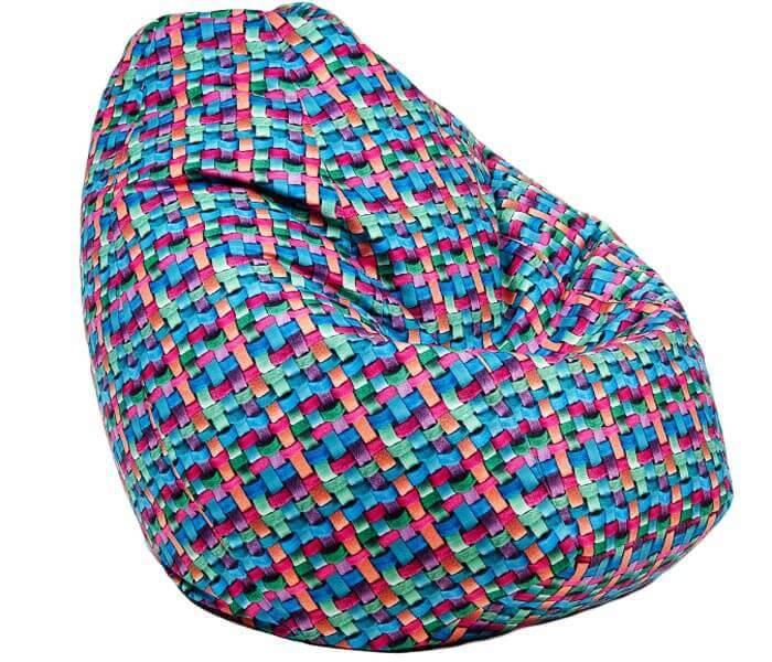 Крісло-груша принт