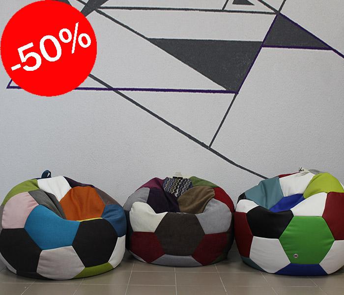М'яч різнокольоровий 100 см