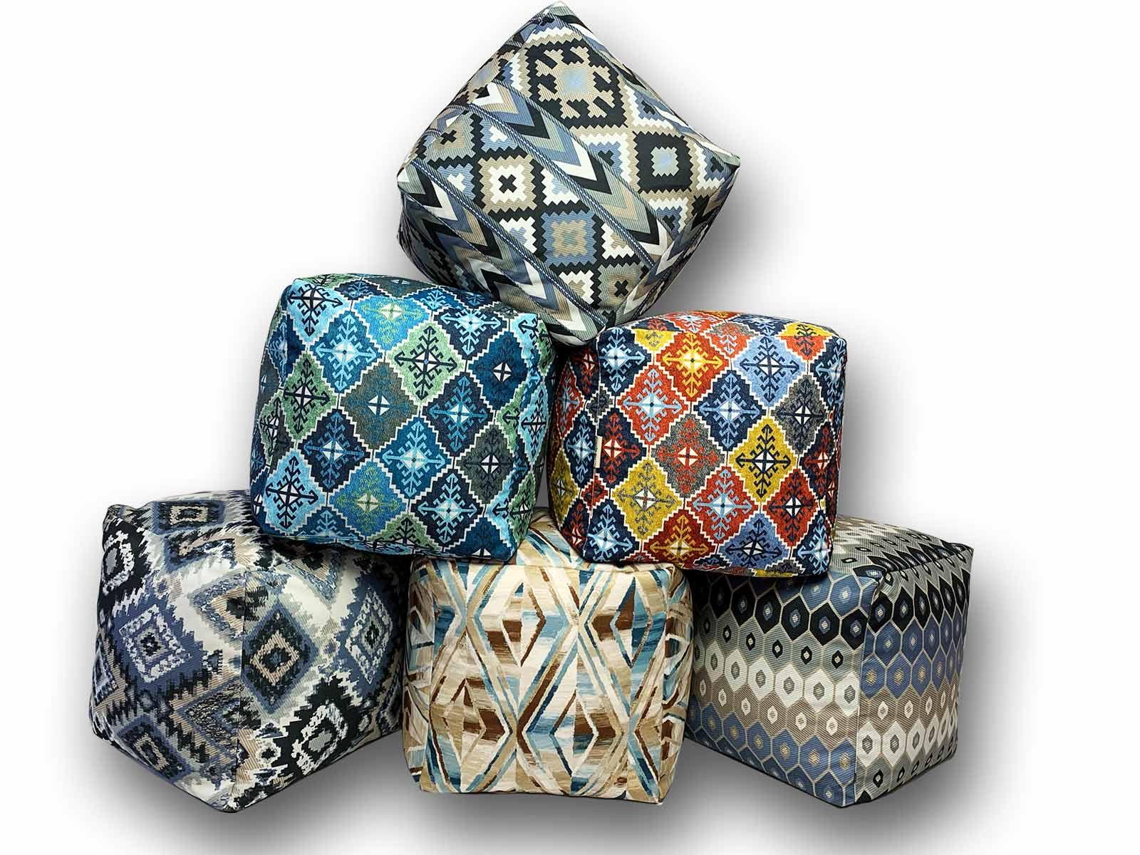 Пуф-куб Етно